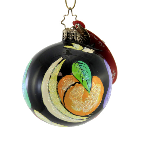 CHRISTOPHER RADKO RIPE HARVEST GEM Glass Ornament Fruits Banana Pear 1012155 A 283