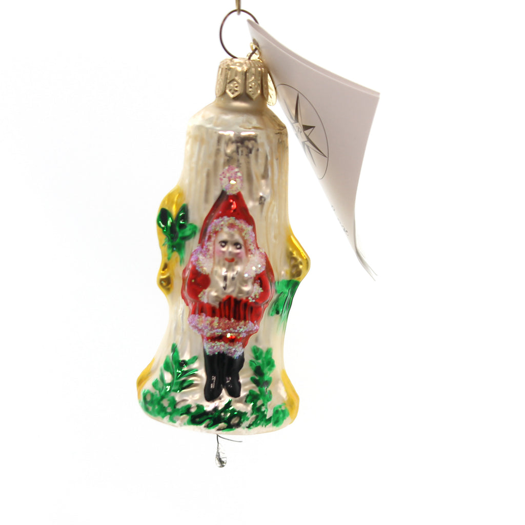 Christopher Radko Frost Chime Glass Ornament
