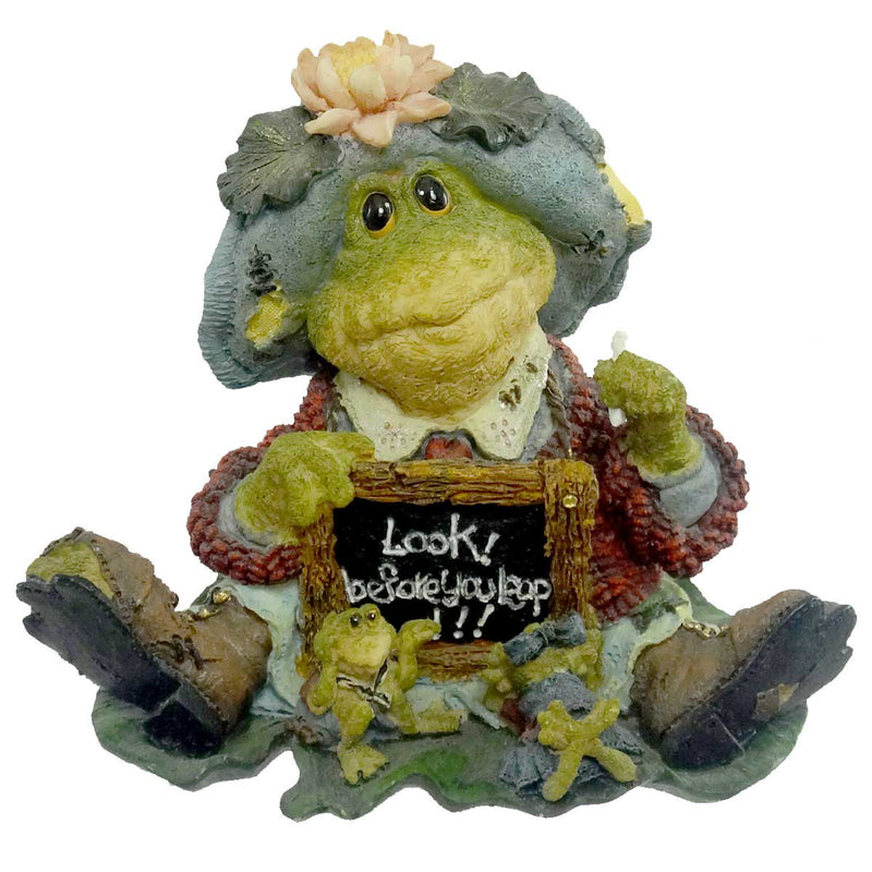 Boyds Bears Resin Ms Lilypond Lesson Number One Figurine