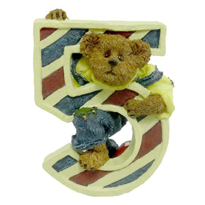 Boyds Bears Resin L T Beanster Figurine