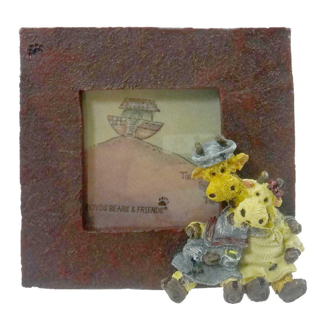 Boyds Bears Resin Stretch & Skye Mini Frame
