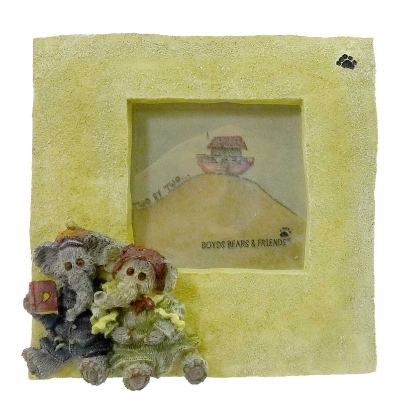 Boyds Bears Resin Packy & Dermah Mini Frame