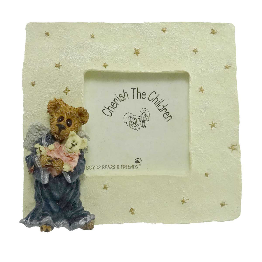 Boyds Bears Resin Charity Angelhug Mini Frame Frame
