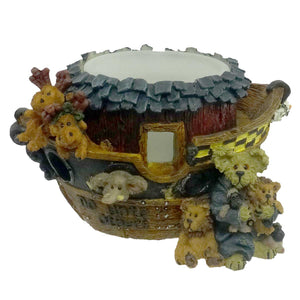 Boyds Bears Resin Noah And The Golden Rule Votive Votive