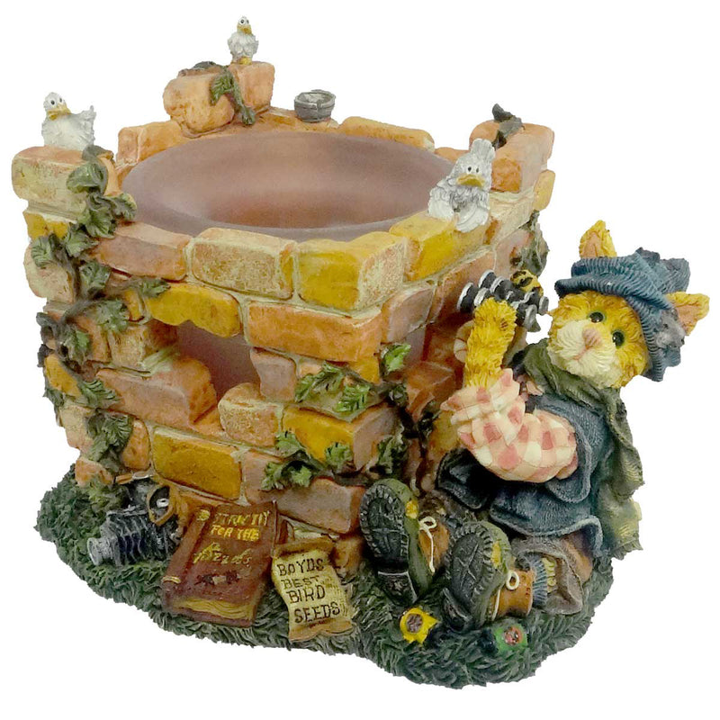 Boyds Bears Resin Audubon P Pussywillow Votive