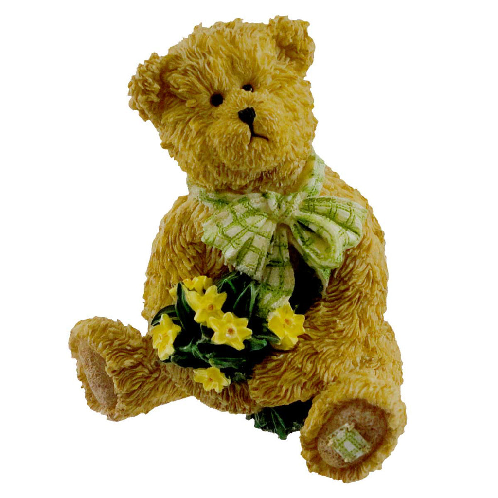 Boyds Bears Resin Buddy Friendships Blossom Figurine