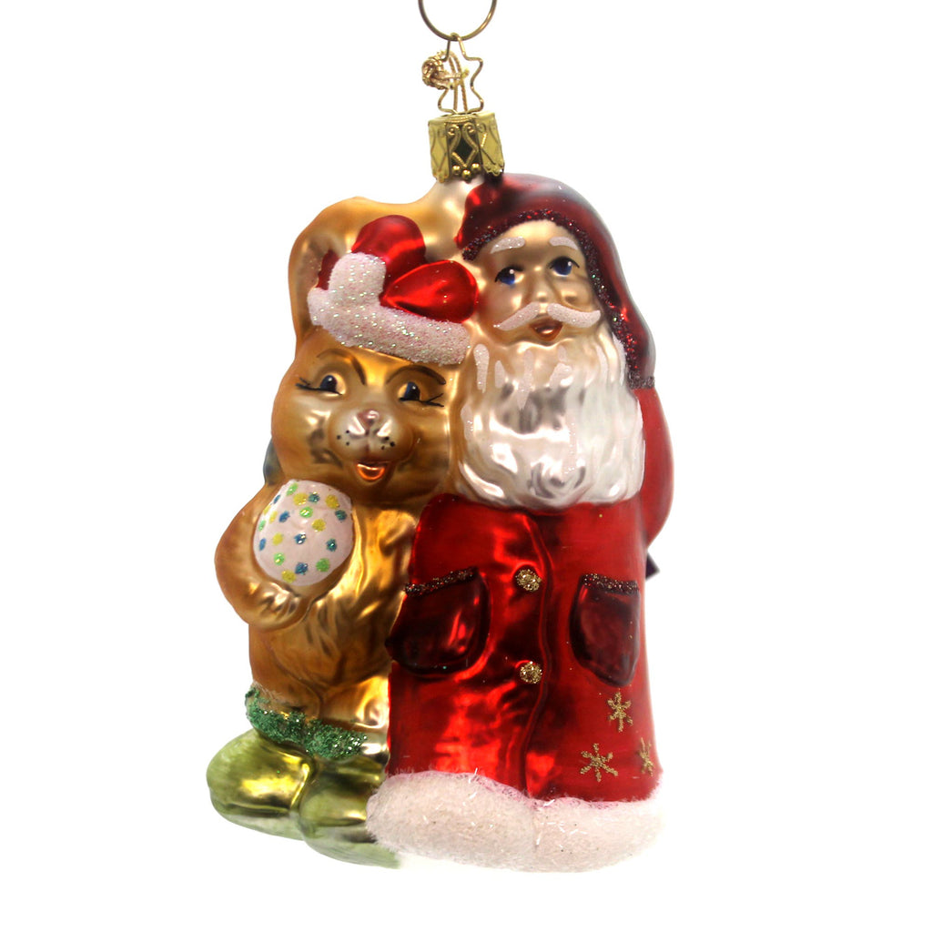 Inge Glas Best Friends Glass Ornament