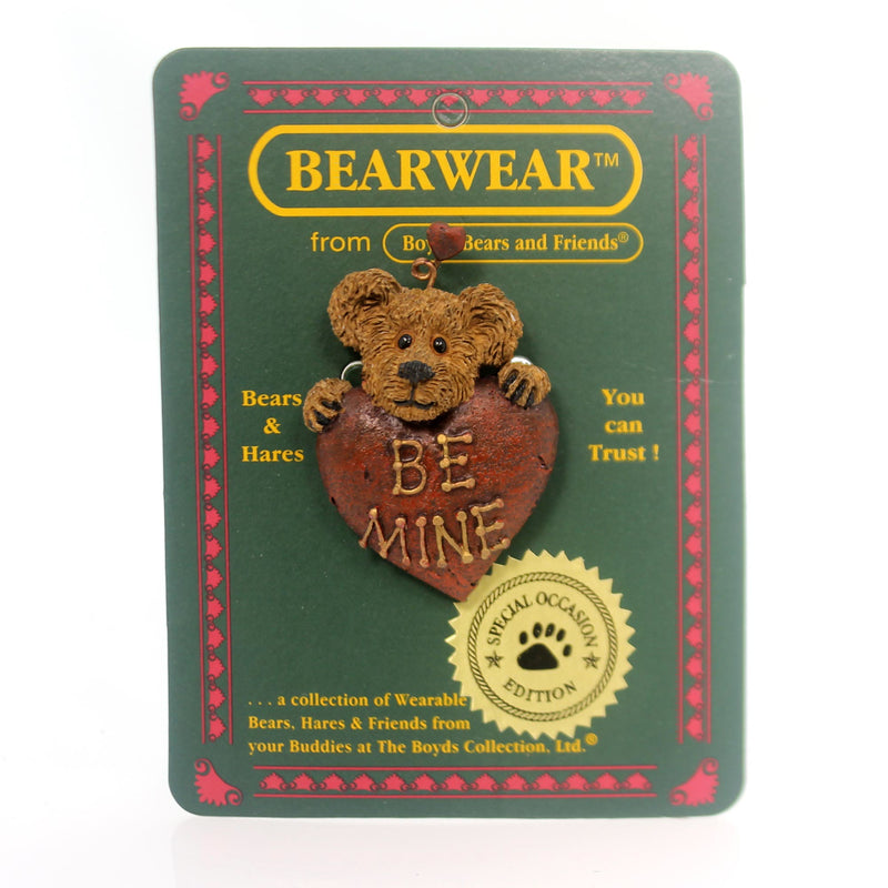 Boyds Bears Resin Harltey B. Mine Pin