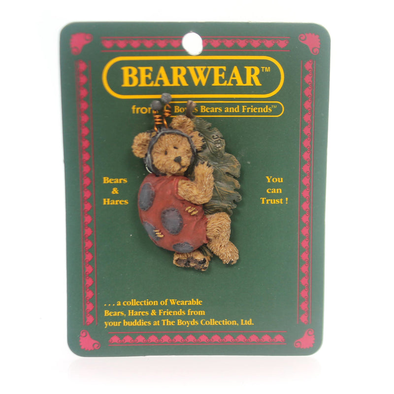 Boyds Bears Resin Tweedle Bedeedle Pin