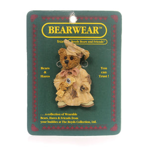 Boyds Bears Resin Bailey The Graduate Pin