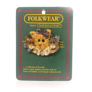 Boyds Bears Resin Purrscilla & Friends Pin