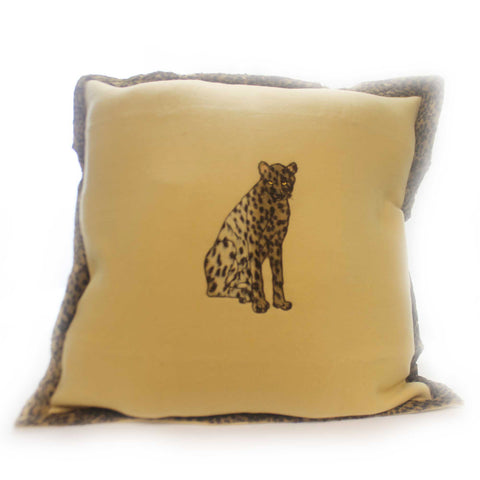 Home Decor Cheetah 28 Inch Square Sham Home Decor 29743