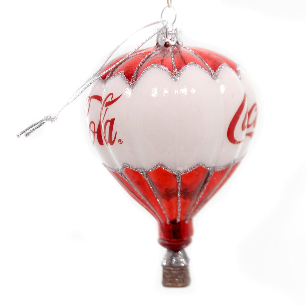 Licensed Coca-Cola Balloon Ornament Glass Ornament