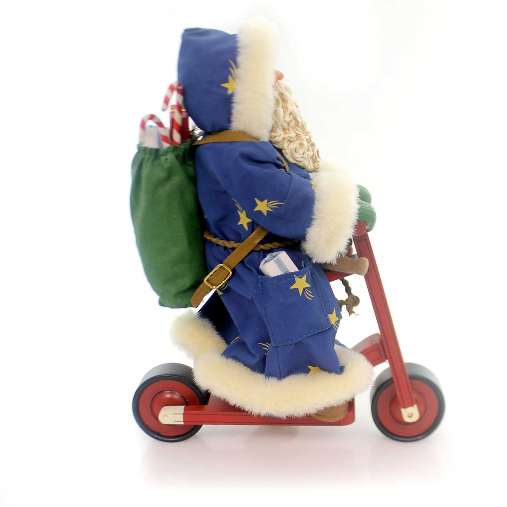 Possible Dreams Just Scooting Along Christmas Figurine