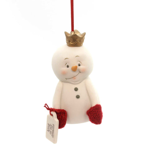 Holiday Ornaments King Of My Dreams Ornament Porcelain Ornament 30172