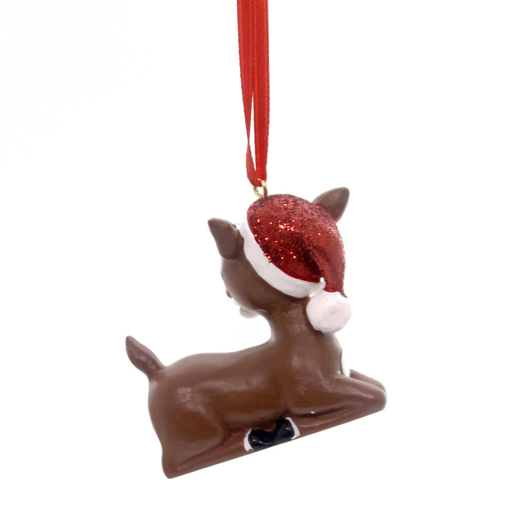 Holiday Ornaments Rudolph 2016 Dated Resin Ornament