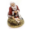 Christmas KNEELING SANTA Polyresin Jesus Reason For Season 26781