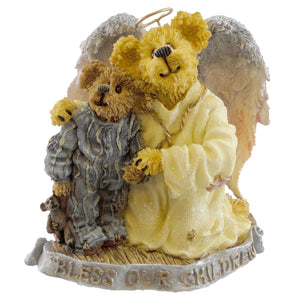 Boyds Bears Resin Hope Angelwish & Everychild Figurine