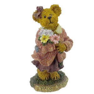 Boyds Bears Resin Merci Abunch Many Thanks Figurine