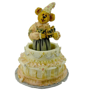 Boyds Bears Resin Gypse Rose Surprise Figurine