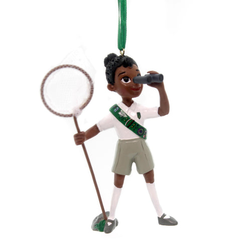 Holiday Ornaments Girl Scout Naturalist Resin Ornament 31057
