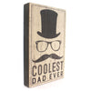 Home Decor Coolest Dad Box Sign Sign / Plaque