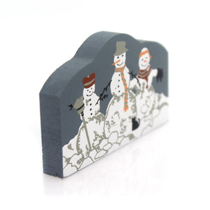 Cats Meow Village Snowmen Keepsake