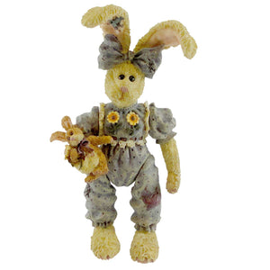 Boyds Bears Resin Winnie Hopkins & Bunnylove Easter & Spring Figurine