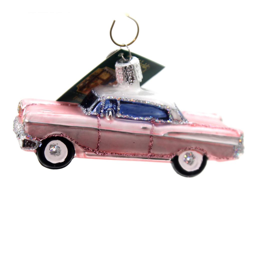 Old World Christmas 57 Chevy Glass Ornament