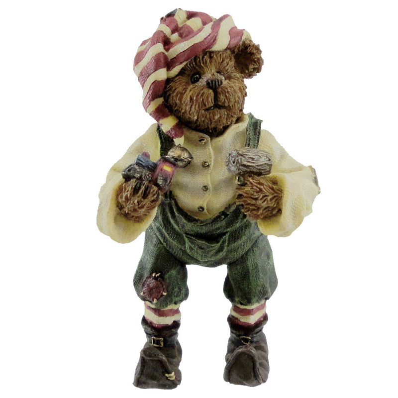 Boyds Bears Resin Alvin Elfbeary Christmas Figurine