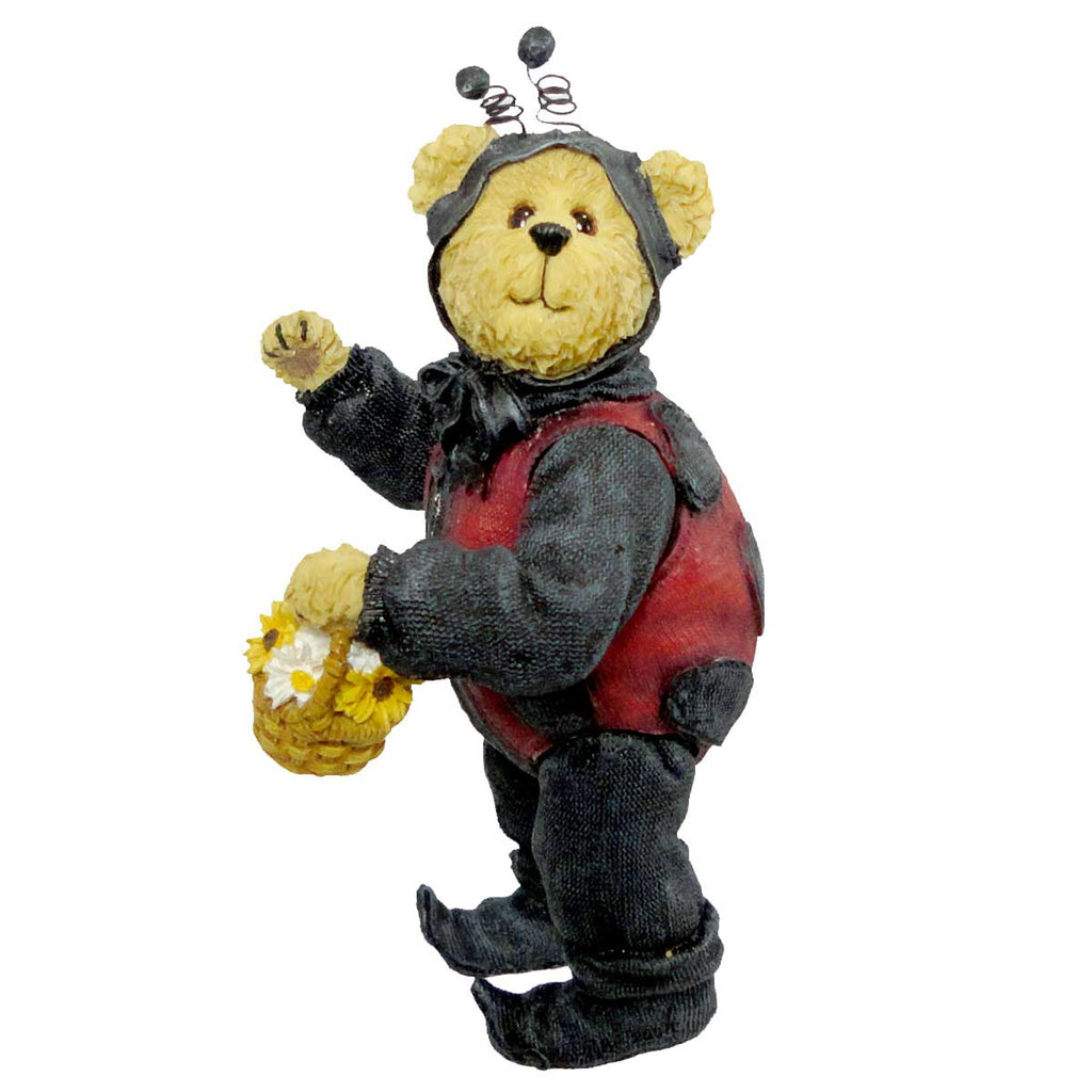 Boyds Bears Resin Lady B Bear Figurine