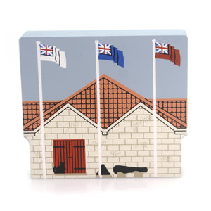 Cats Meow Village Powder Magazine Keepsake