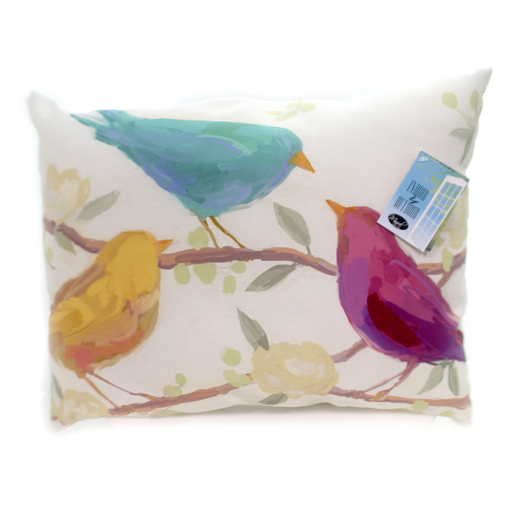 Home & Garden Bird Song Pillow Accent Pillow