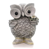 Home & Garden Owl In Rain Statue Outdoor Decor