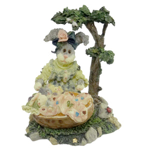 Boyds Bears Resin Momma Mchopple And Babies Figurine
