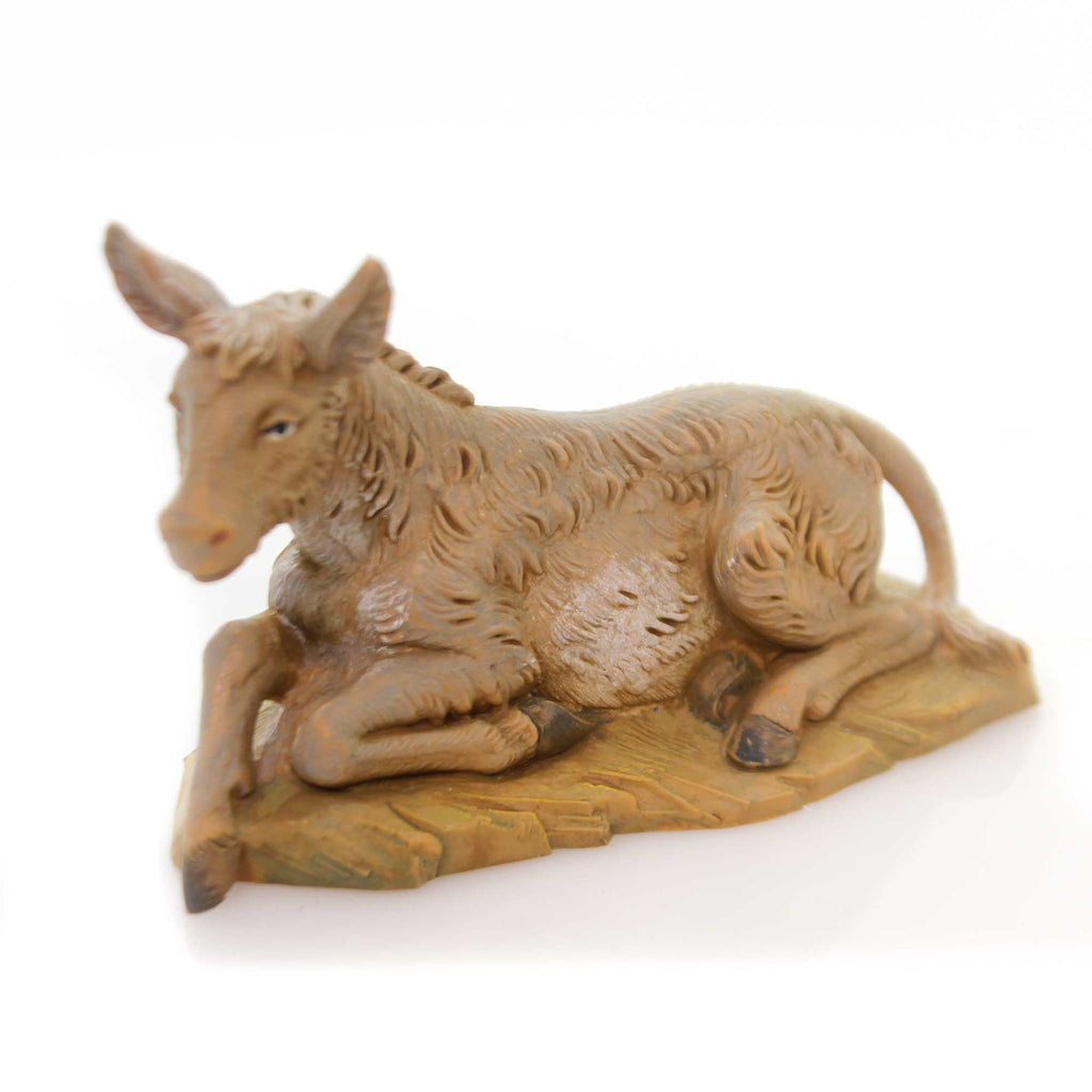 Fontanini SEATED DONKEY Plastic 5 Inch Collection Nativity 54017