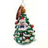 Christopher Radko Frosty Filled Fir Glass Ornament