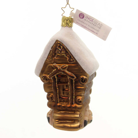 Inge Glas Witch Haus Glass Ornament 33371