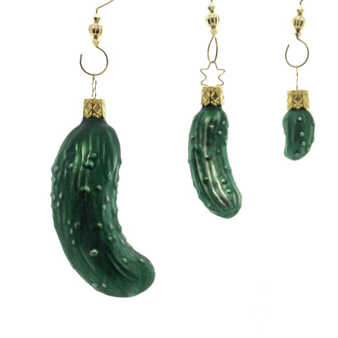 Inge Glas Legend Of The Pickle Glass Ornament 33383
