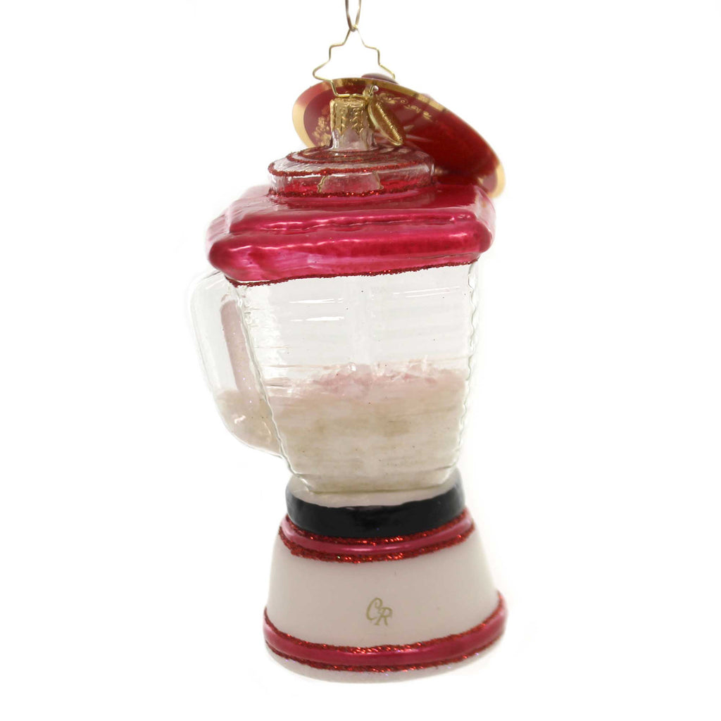 Christopher Radko The Perfect Blend Glass Ornament