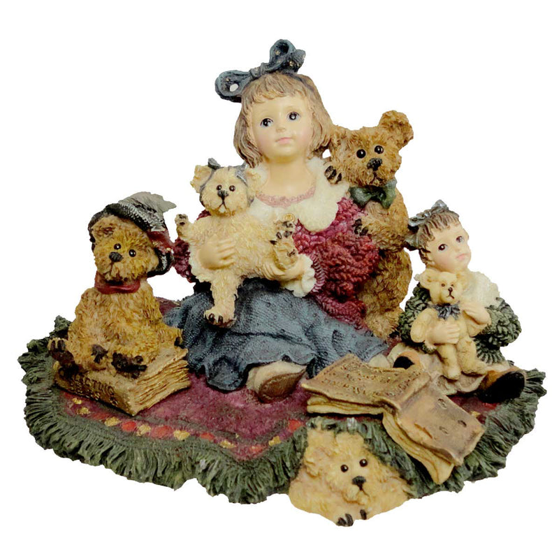 Boyds Bears Resin Kelly & Co The Bear Collector Figurine