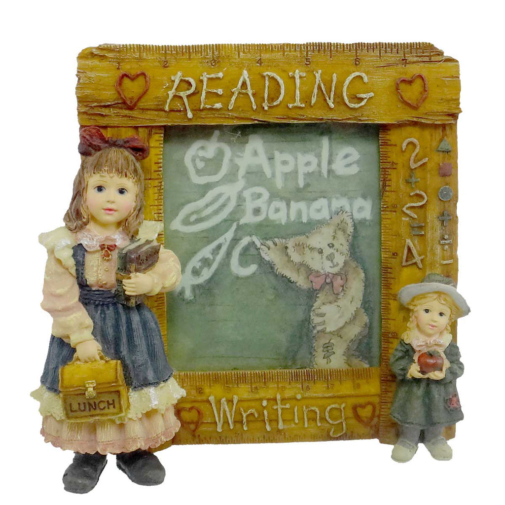 Boyds Bears Resin Laura W/ Jane Frame