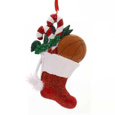 Holiday Ornaments Sports Sock Ornament Resin Ornament 33643