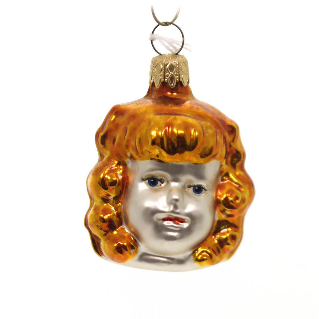 Holiday Ornaments Blondie Child Glass Ornament