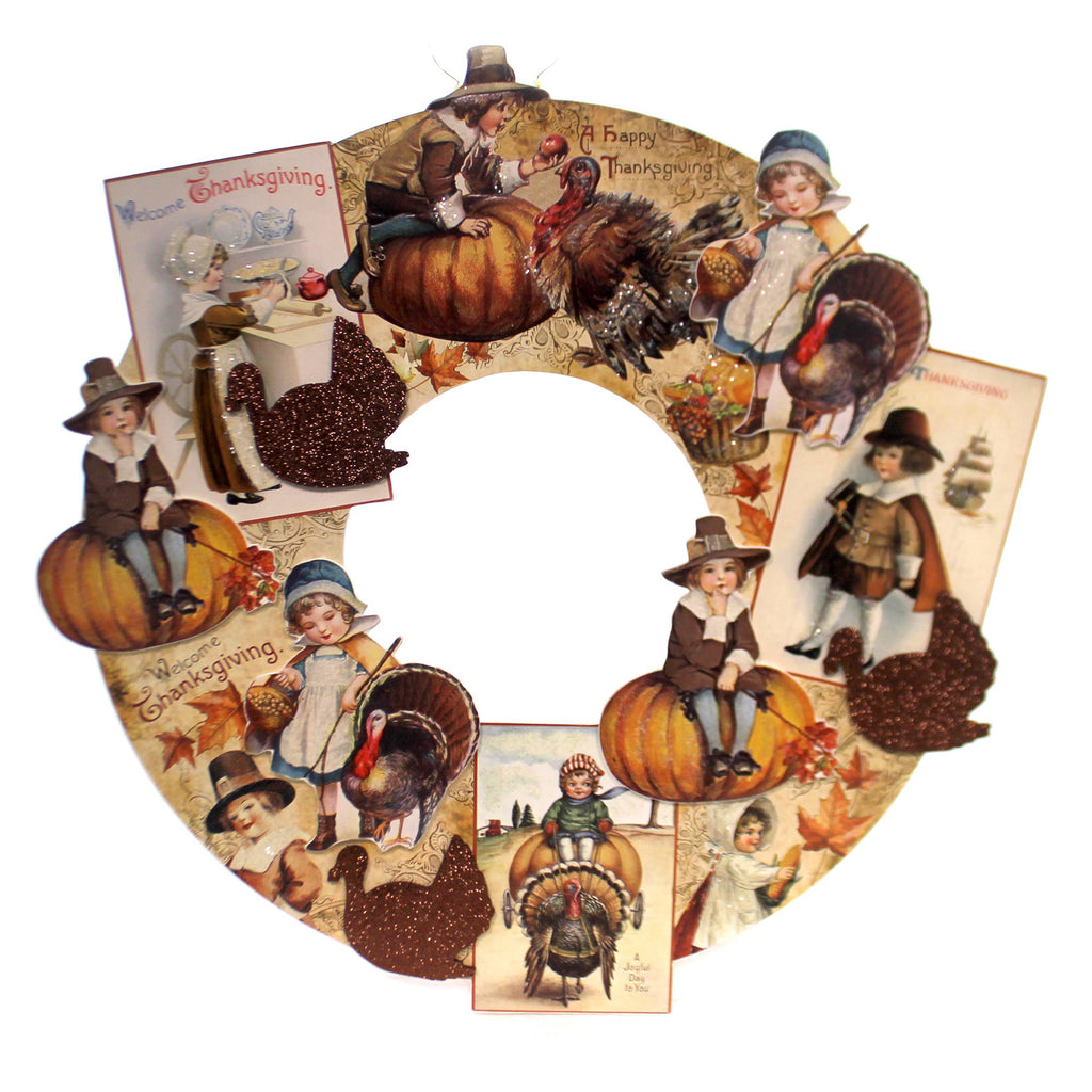 Thanksgiving Thanksgiving Diecut Wreath Wreath