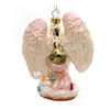 Holiday Ornaments Kneeling Angel Glass Ornament