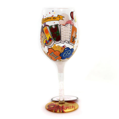 Tabletop JUNE BIRTHDAY Glass Lolita Love My Wine 4058066 33941