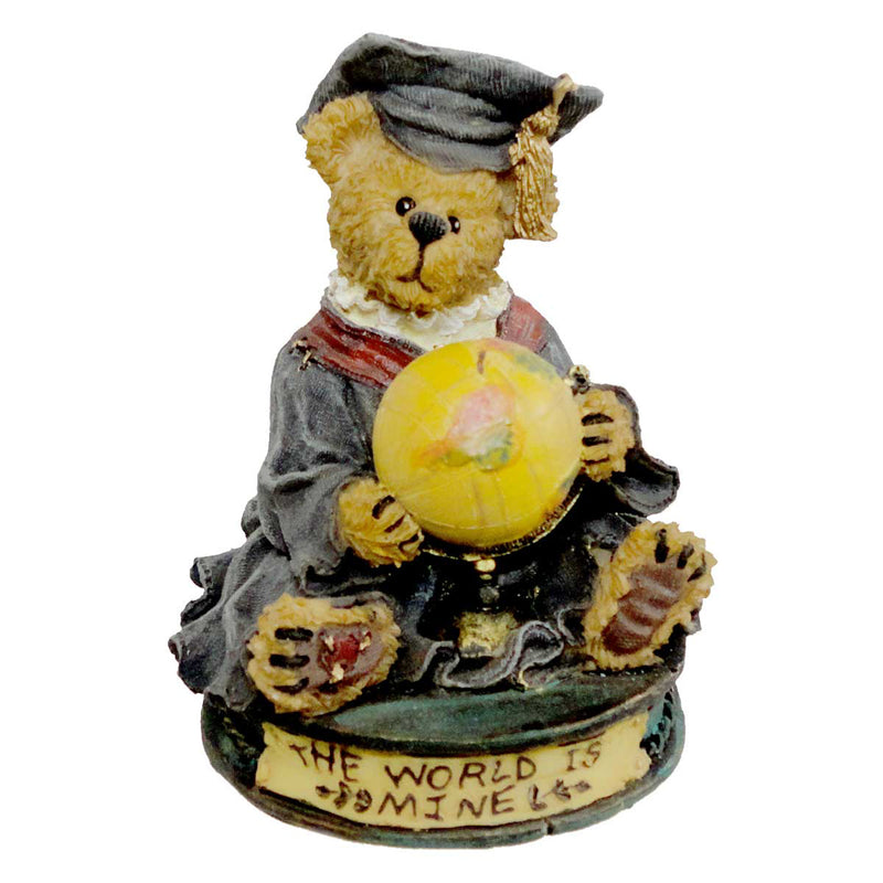 Boyds Bears Resin Victor The Graduate Figurine