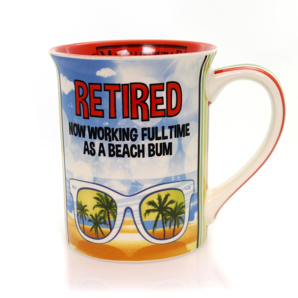 Tabletop Retired In Margaritaville Mug Mug / Coffee Cup