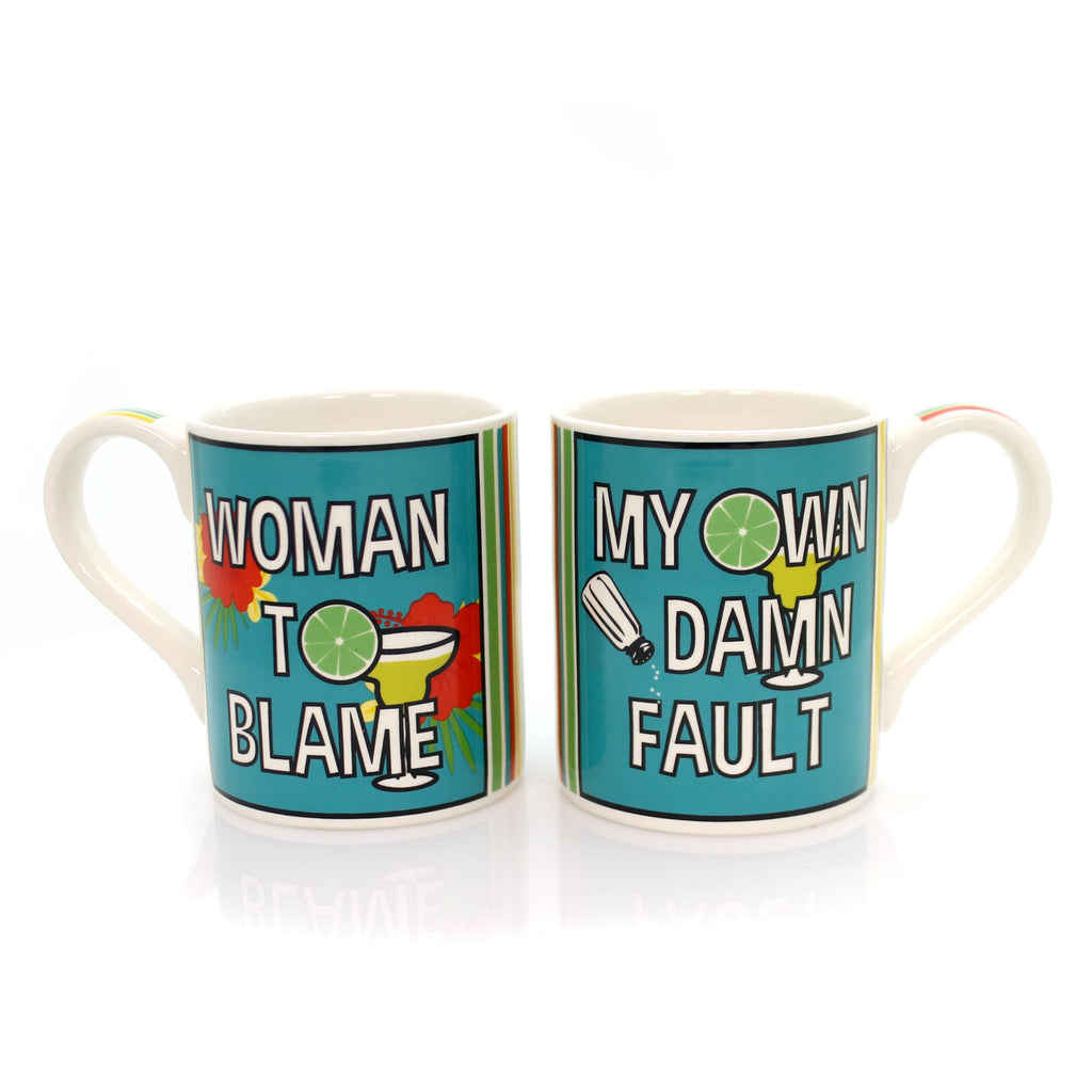 Tabletop Woman To Blame Mug Set Mug / Coffee Cup